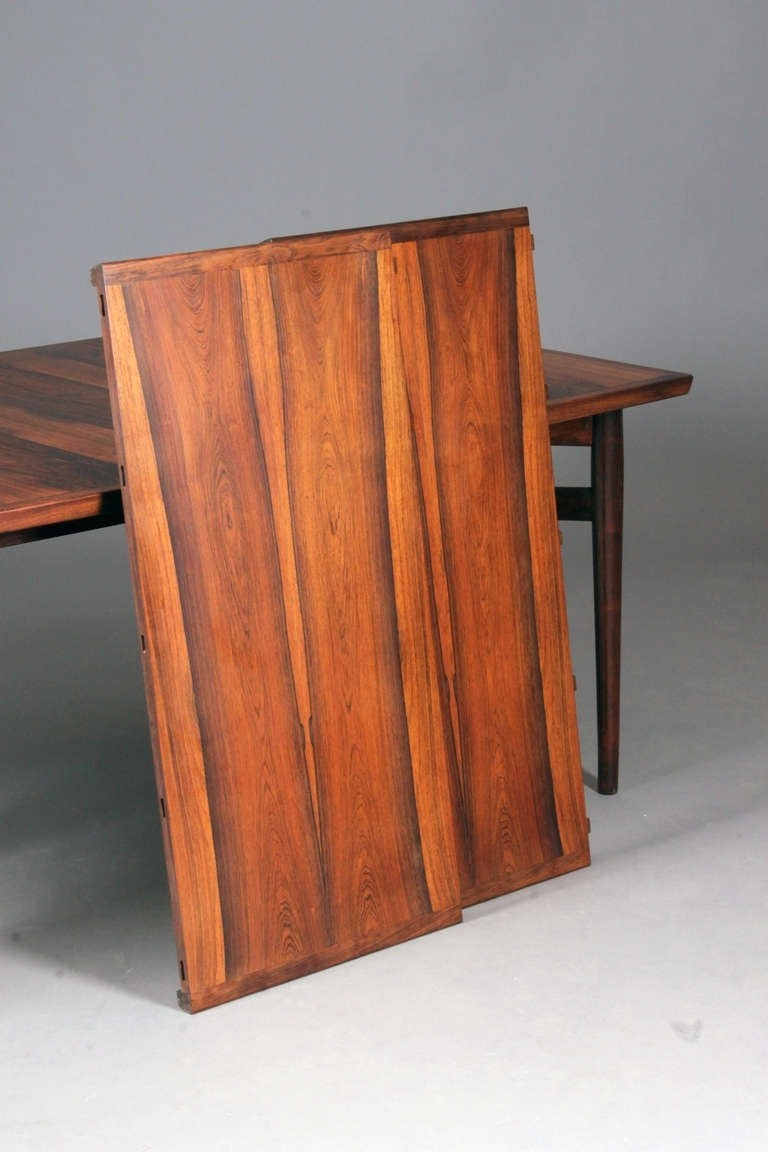 Extension Table Two Extra Leaves Arne Vodder