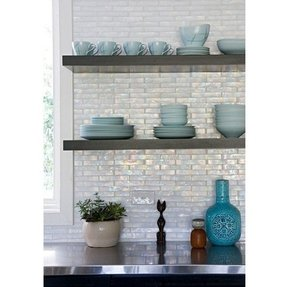 Floating Stainless Steel Kitchen Shelves Foter