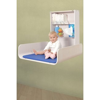 Foldable changing table