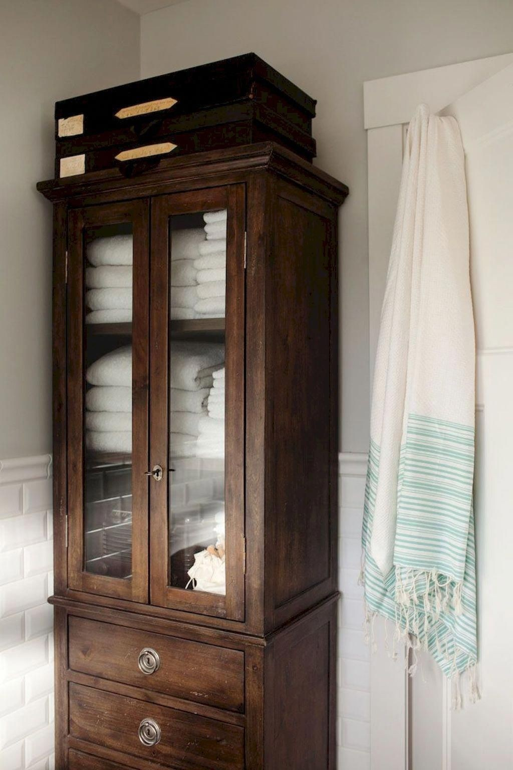 Delicieux Free Standing Linen Closets