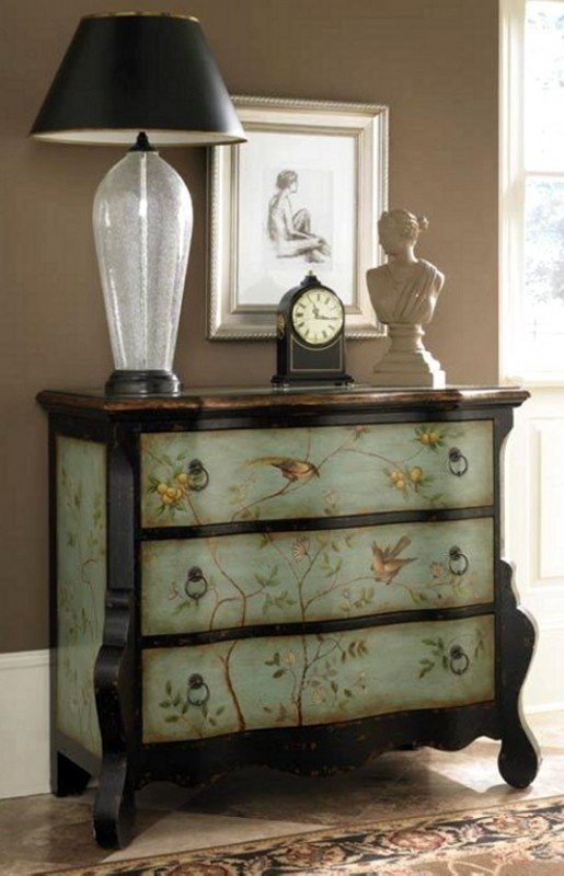 Ordinaire Hand Painted Chest Of Drawers