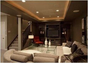 Home theatre sectional 37
