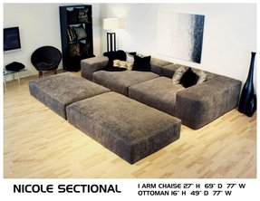 Home theatre sectional 6