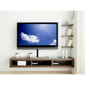 Ikea wall mounted entertainment center