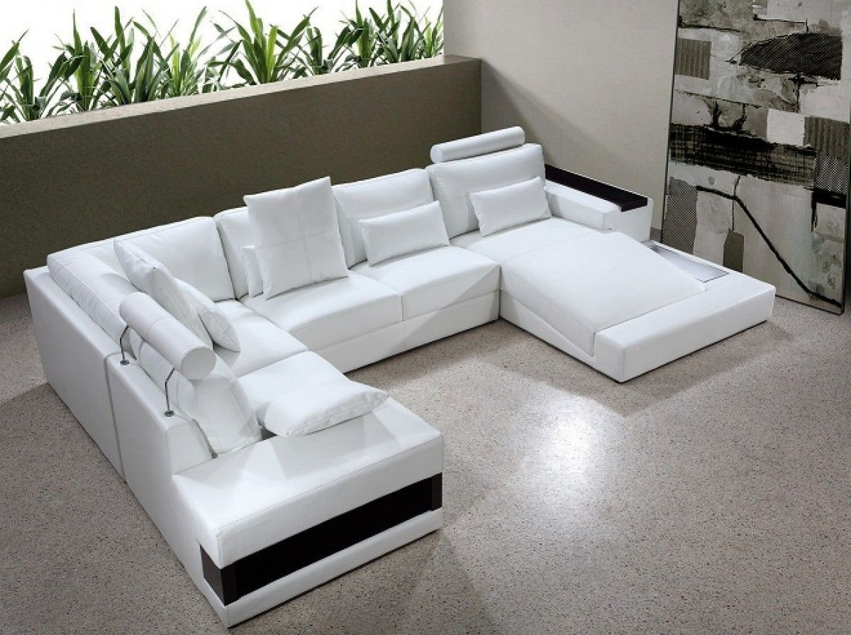 Leather Sectional Sleeper Sofa With Chaise 1