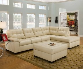Fantastic Small Leather Sofa With Chaise Ideas On Foter Ocoug Best Dining Table And Chair Ideas Images Ocougorg