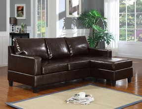 Small Leather Sofa With Chaise - Ideas on Foter