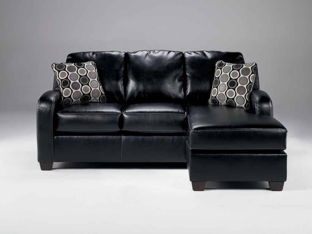 Incroyable Leather Sofa With Chaise Lounge