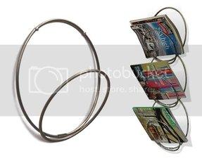 Modern Wall Mounted Magazine Rack Foter