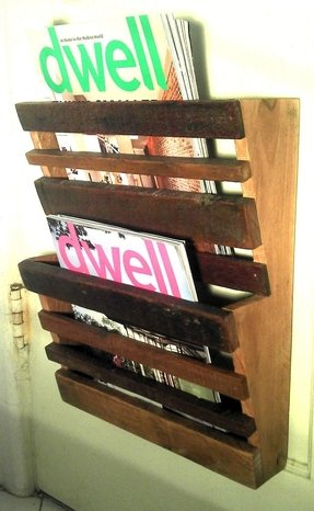 Magazine rack wood plans