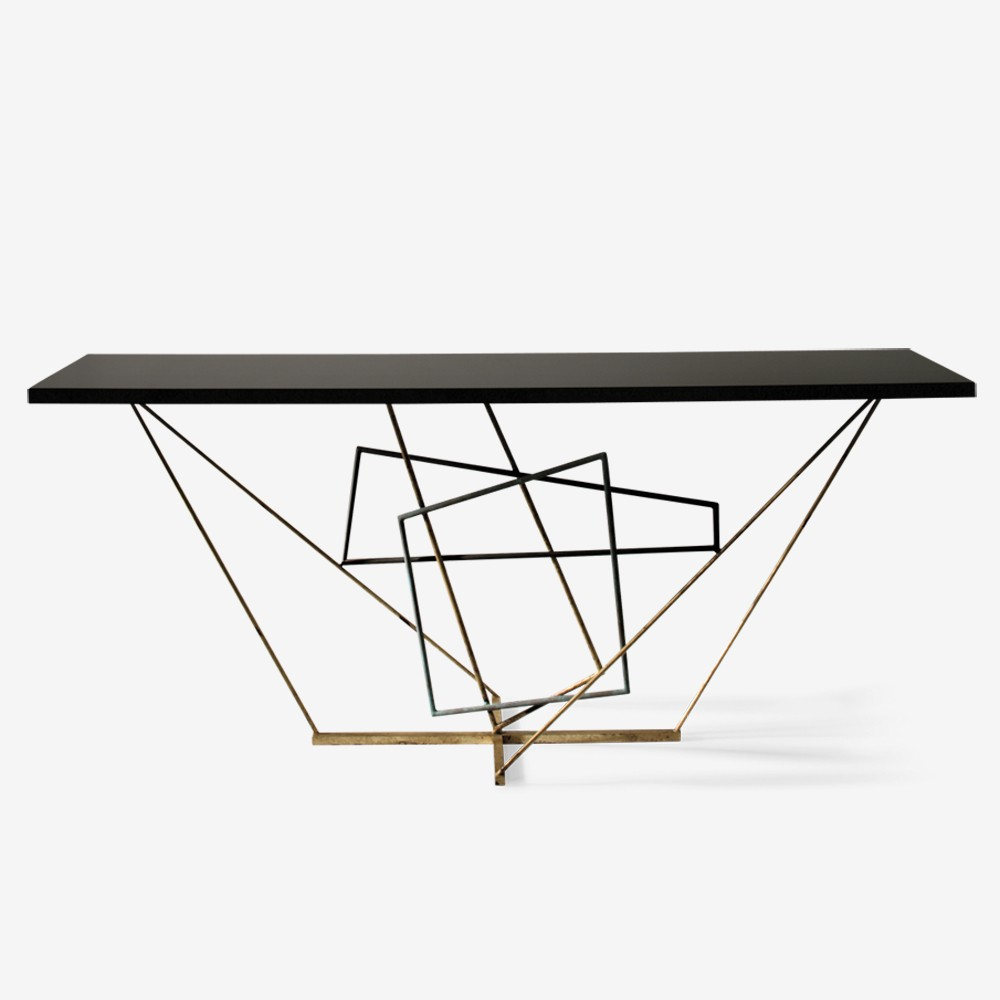 Metal Console Table Base 1