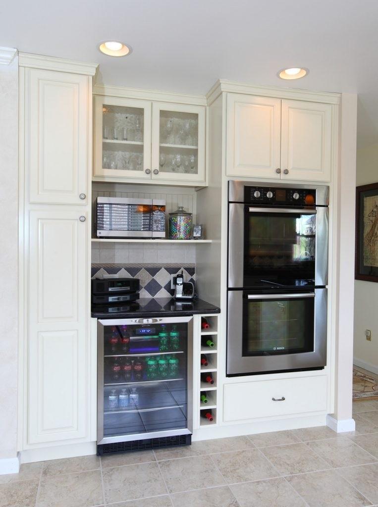 Mini Refrigerator Cabinet Bar   Ideas On Foter