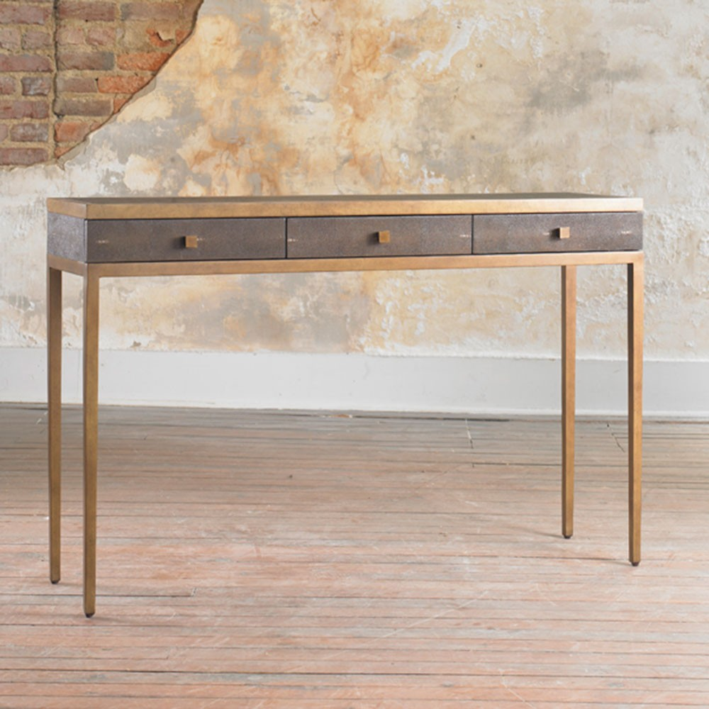 Contemporary Console Table With Drawers Foter