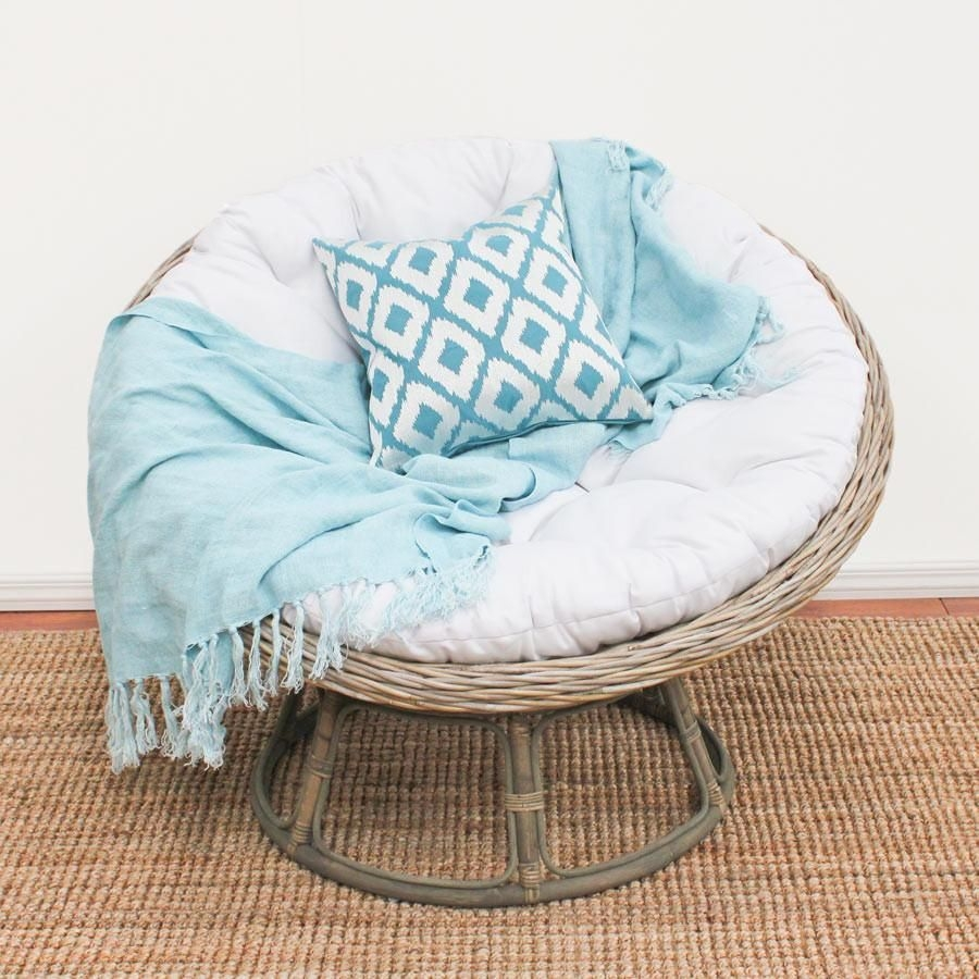 Gentil Modern Papasan Chair