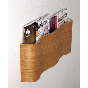 Modern Wall Mounted Magazine Rack 1