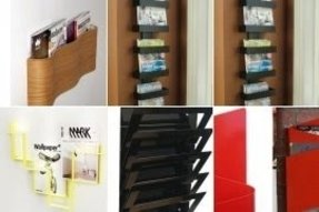 Modern Wall Mounted Magazine Rack Foter