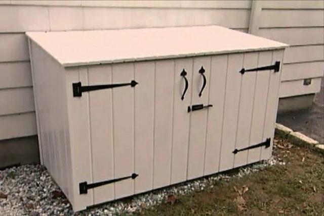 Outdoor Patio Cushion Storage
