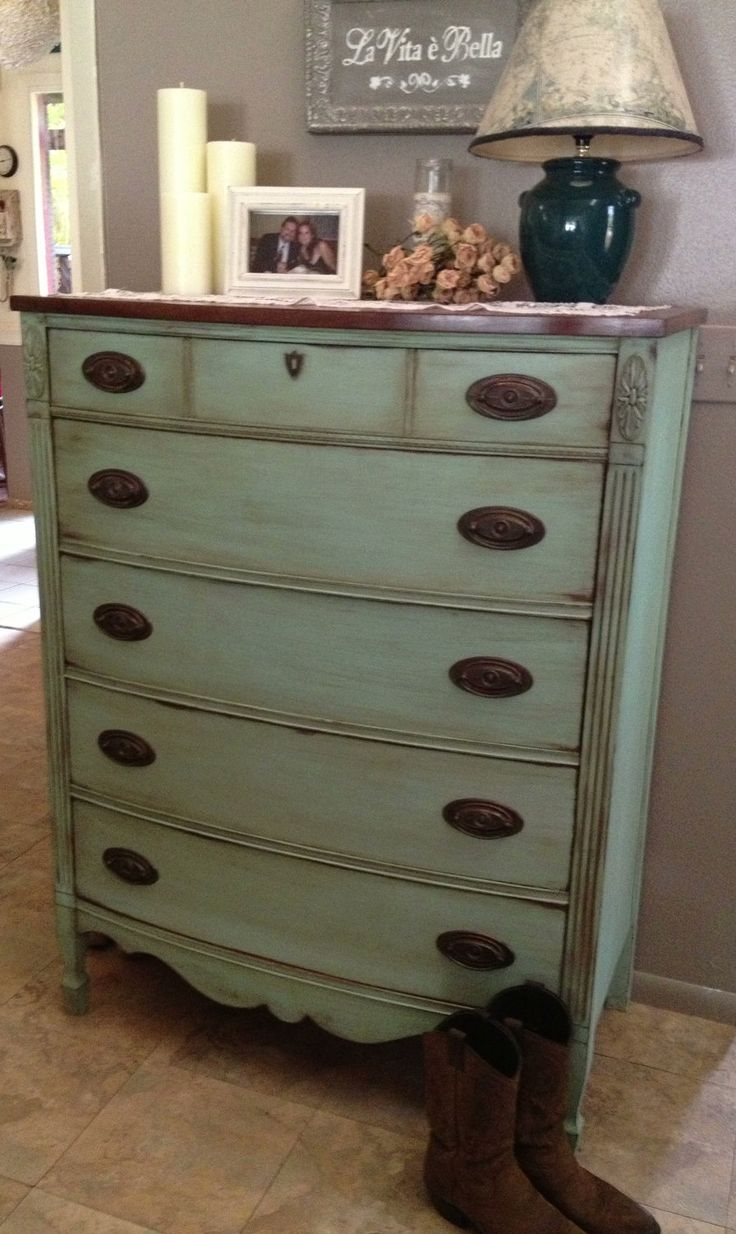 Great Painted Chest Drawers