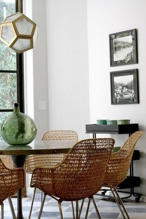 Ratan dining chairs