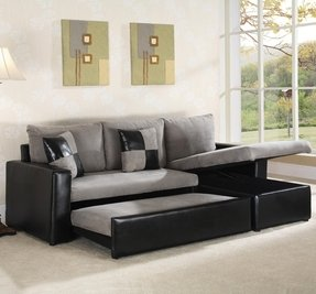 Small Leather Sofa With Chaise Foter