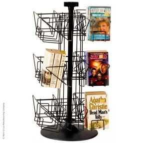 Rotating literature rack 1