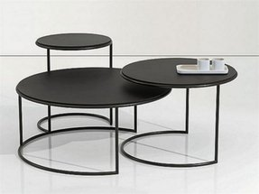 Round metal coffee tables 1
