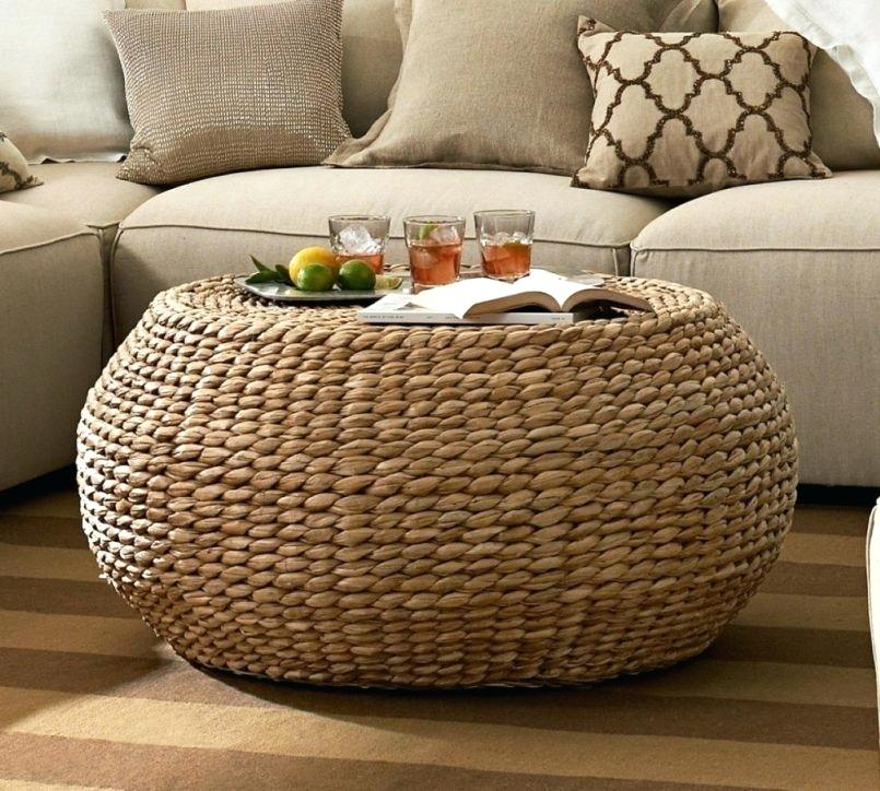 Beau Round Woven Coffee Table