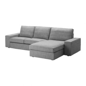 Sectional with two chaises