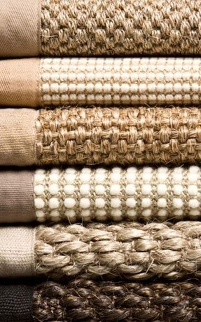 Sisal and jute rugs