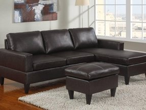 detailed look 9b00f 4878b Small Leather Sofa With Chaise - Ideas on Foter