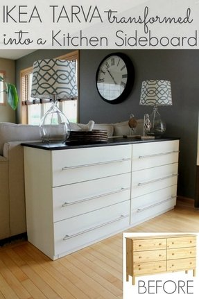 Sofa table with storage drawers 11