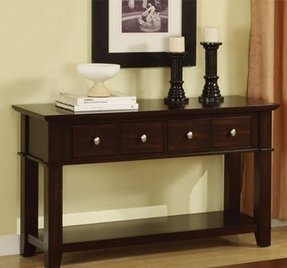 Sofa Table With Storage Drawers Ideas