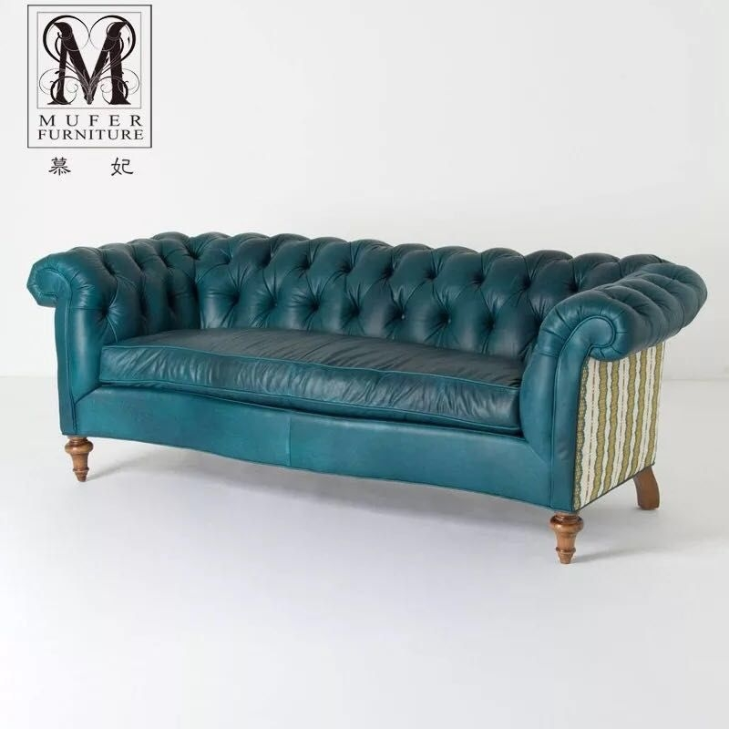 Teal Tufted Sofa   Ideas On Foter