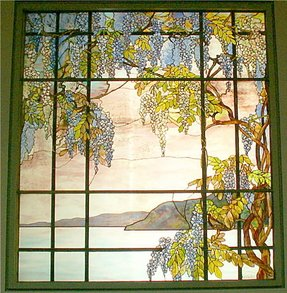 Tiffany stained glass panels 1