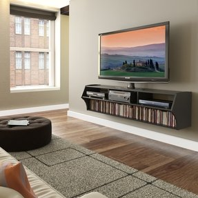 Tv stand with storage for flat screen tv 3