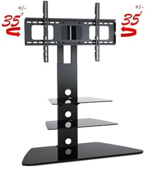 Tv stands with integrated mount 3