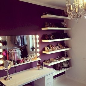 Vanities For Bedrooms With Lights And Mirror - Foter