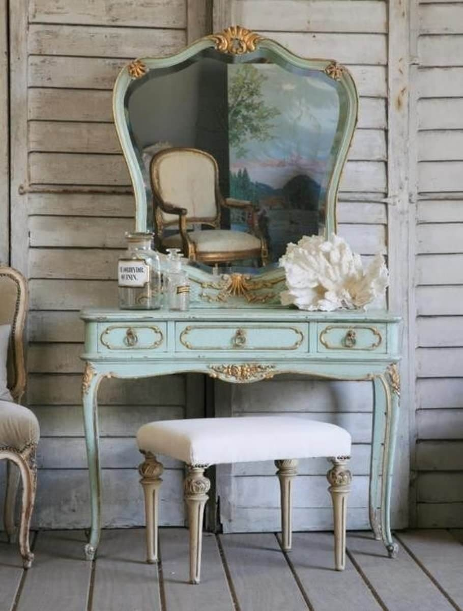 Genial Vanity Table Without Mirror