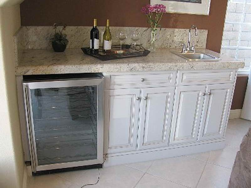 Delicieux Wine Bar Furniture With Refrigerator Wine Bar With Refrigerator