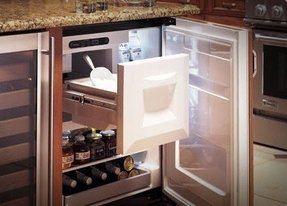 Bar Cabinet With Wine Refrigerator Foter