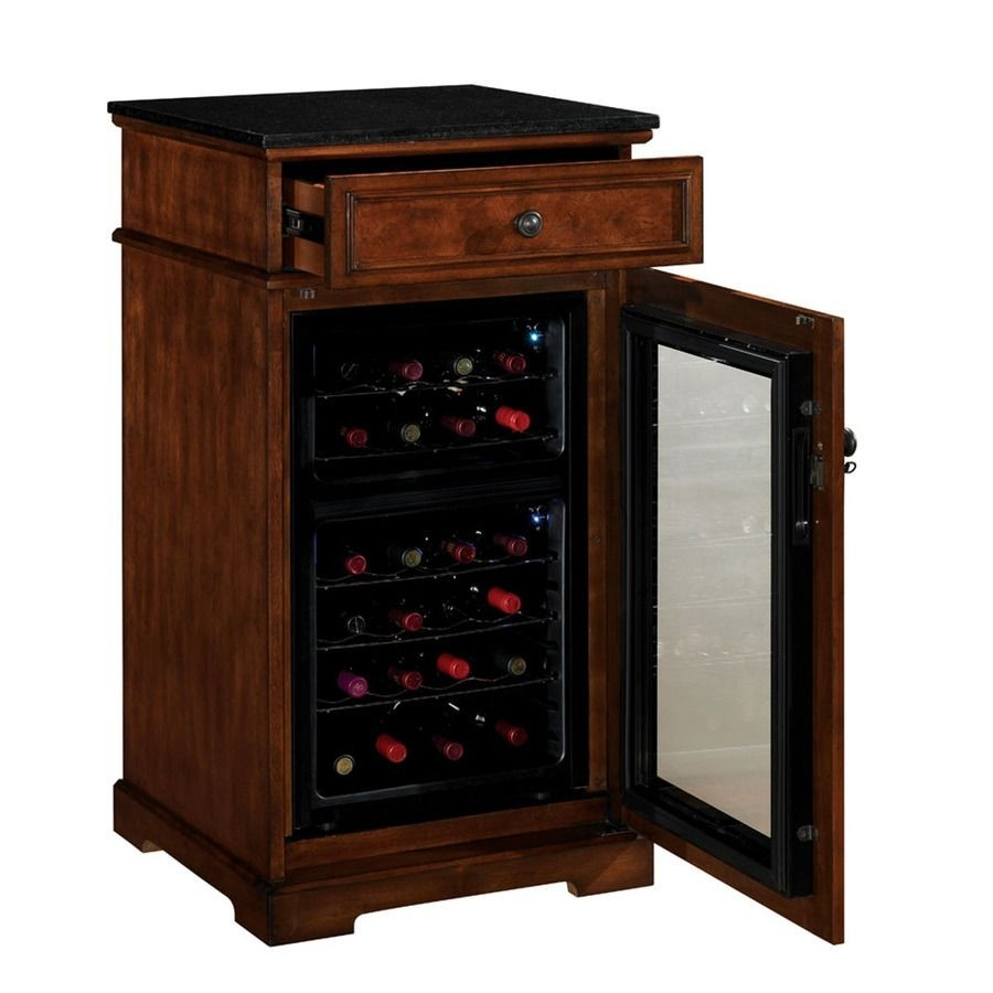 Charming Wine Refrigerator Furniture