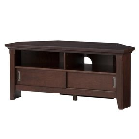 Wooden corner tv unit