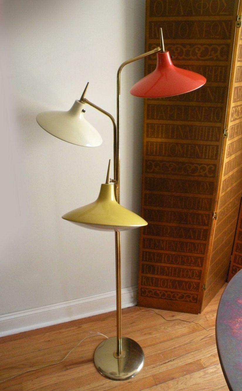 Yellow Floor Lamps 1