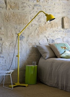 Yellow floor lamps 22