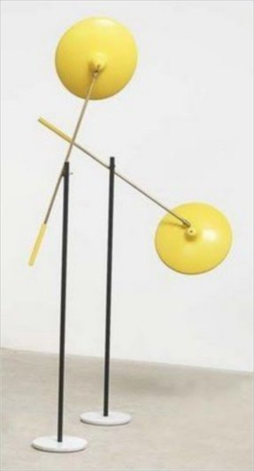 Yellow floor lamps 23