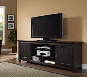 unusual solid wood media cabinet. 70  Solid Wood TV Stand with Sliding Doors in a Beautiful Espresso Brown Finish Tv Stands Foter