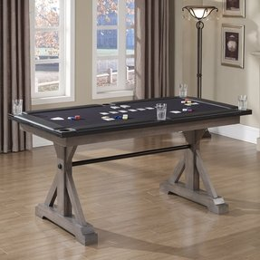 Bandit Poker Table Finish: Glacier