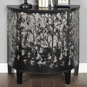 Demilune console chest foter - Bedroom furniture made in north carolina ...