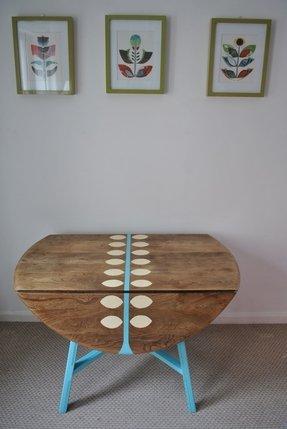 Drop Leaf Work Table Foter