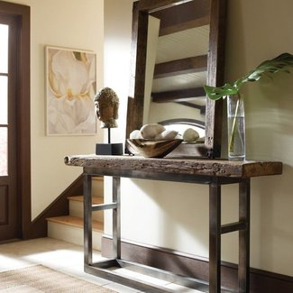 Iron Wood Console Table Ideas On Foter